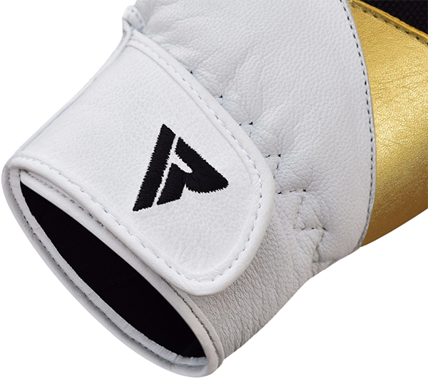 Gym Glove Leather S11 White/Black