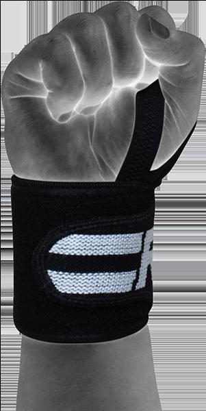 Gym Wrist Wrap Black Pro