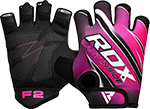 Womens Weightlifting Gym Gloves (Pink)