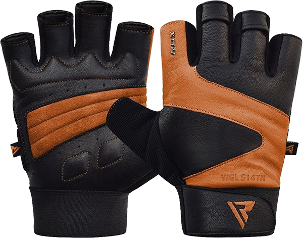 Gym Glove Leather S14 Tan
