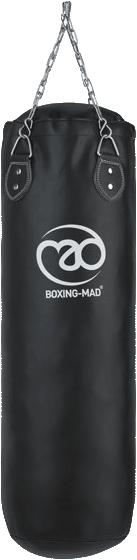 Fitness Mad Leather Punch Bag 120cm x 35cm