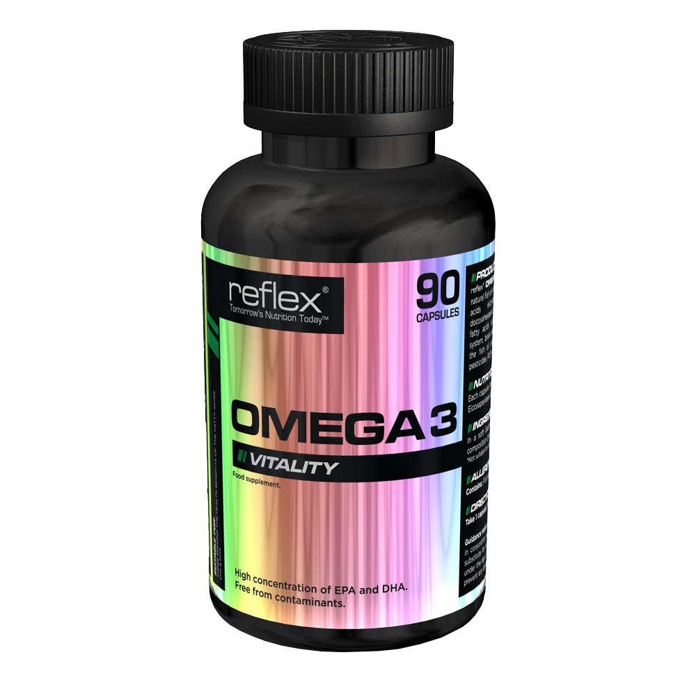 reflex omega 3 90 capsules puregym shop. Black Bedroom Furniture Sets. Home Design Ideas