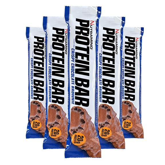 Protein Bar - 64g x12 - Crispy Chocolate Brownie