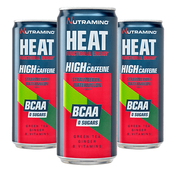 HEAT BCAA - 330ml x24 - Strawberry / Watermelon