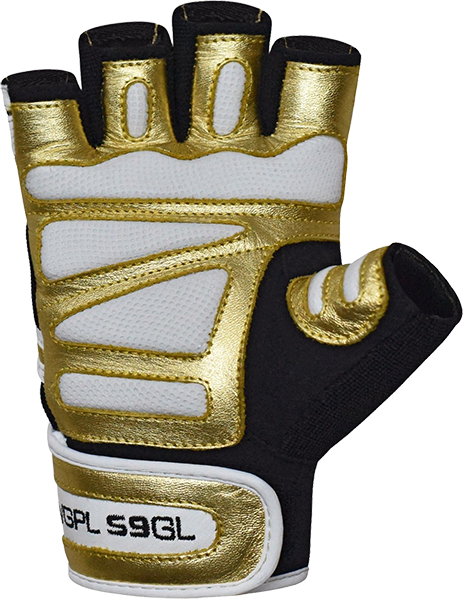 Gym Glove Paper Leather S9 Golden