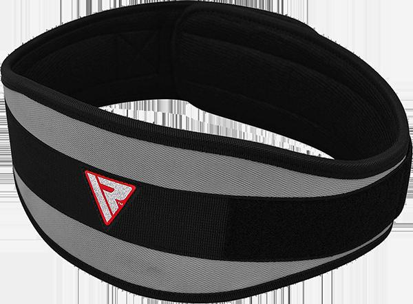 "Belt Neo Prene 6"" Curve Gray"