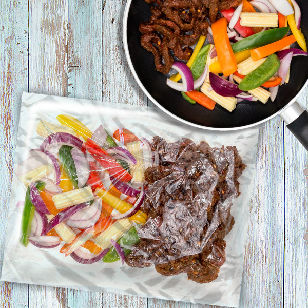 Spicy Chilli Beef Stir Fry Bag - 1 Person
