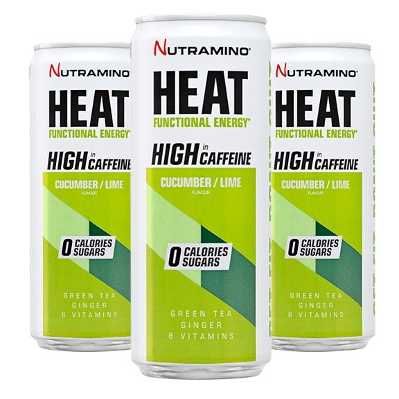 HEAT - 330ml x24 - Cucumber / Lime