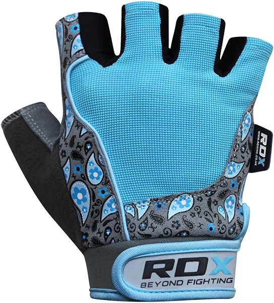 Gym Glove Amara Blue/Gray