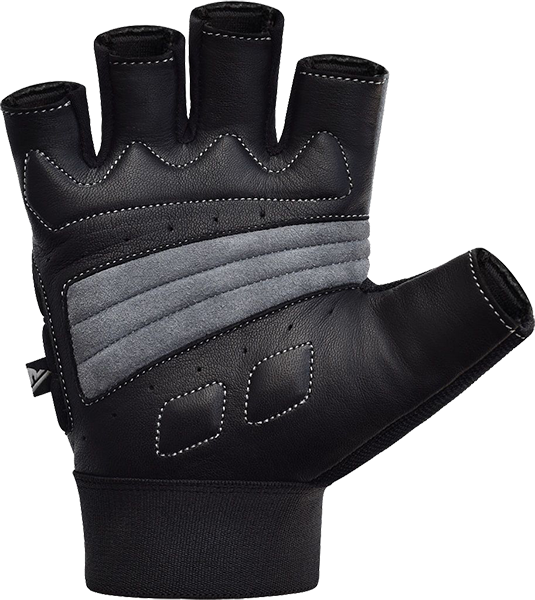 Gym Glove Leather S15 Gray