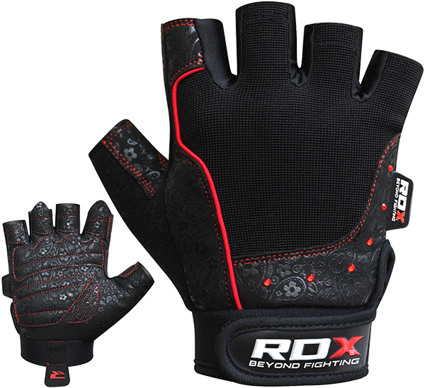 Gym Glove Amara New Red Stone