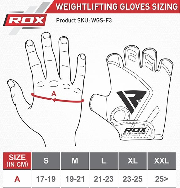 Gym Weight Lifting Gloves (Orange)
