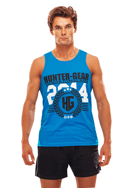 HG Men's Tank Top BLUE