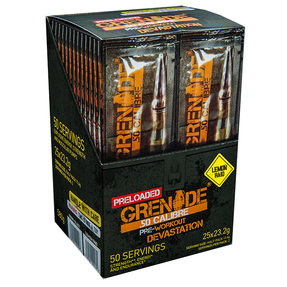 Grenade 50 Calibre Preloaded